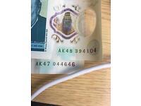 New Five Pound Note (AK47)&(AK48)