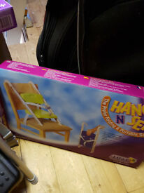 Child's portable dining chair