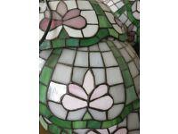 17 Floral Mosaic Hanging Lanterns Ceiling Light Bar Cafe Lamp