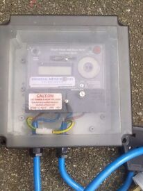 Single phase watt hour mobile meter - solid state digital AMPEY automation