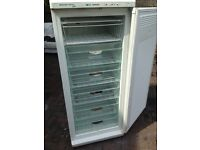 White tall freezer standing..Cheap Free delivery