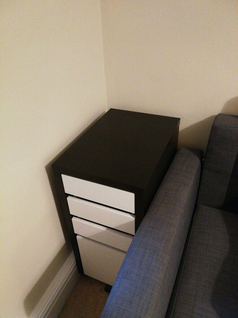 IKEA MICKE drawer unit with drop-file storage   in Weybridge, Surrey    Gumtree