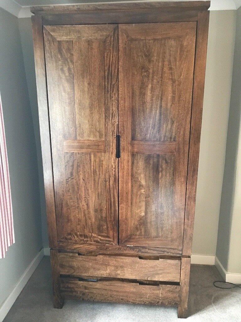 M Amp S York Bedroom Furniture Solid Wood Wardrobe Double