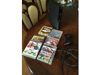 PS3 slim 320gb + games