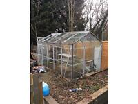 10 x 6 greenhouse inc 2 stagings