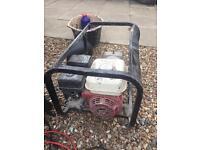 Honda generator 240/110 v