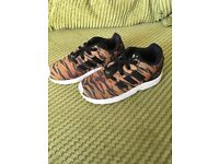 Kids Adidas tiger trainers
