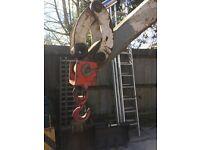 300kg Digger Lifting Hook, replaces bucket