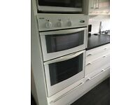 Indesit double oven