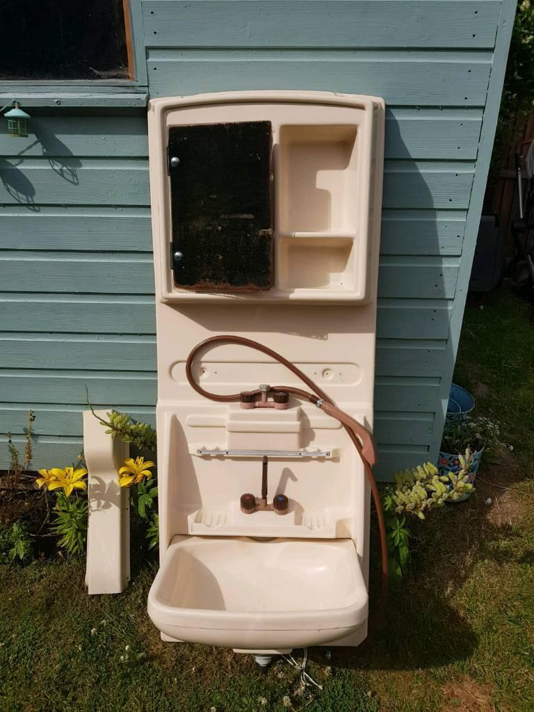 Caravan bathroom unit - Caravan Motor Home Vanity Bathroom Shower Unit