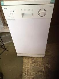 Hec slimline dishwasher under counter