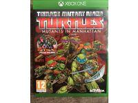 Teenage mutant ninja turtles Xbox one