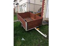 Car box trailer large strong newly built 6ft x 4ft