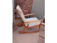 Rare Parker Knoll Rocking Chair Model P.K. 988 series