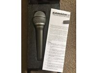 Samson Q7 Cardioid Vocal/Instrument Microphone