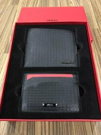 Genuine Hugo Boss Wallet Gift Set