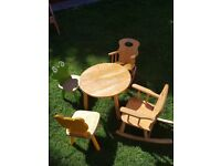 John Crane Limited kids wooden set