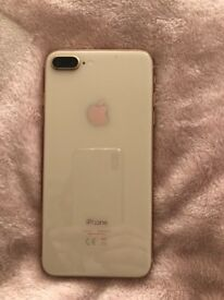 Rose gold iPhone 8 Plus 64GB