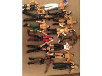 Wrestling figures