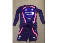Liverpool kids young boys full kit