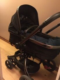 Mothercare Orb Pram with accessories