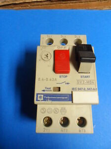 Telemecanique Gv2 M04 Motor Protection Circuit Breaker 0 4amp Ebay