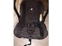 FREE Joie black baby car seat 0-13kg