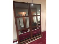 Mirror Wardrobe Doors with Smoked Glass