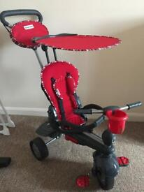Smart trike 5 in 1 - Red - Excellent condition!