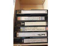 VHS blank videos