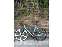 Brick Lane Bikes Track with Aerospoke and carbon fork