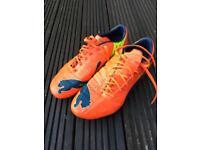 Puma Evo Power football boots size 10