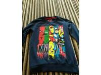 Marvel comics boys jumper