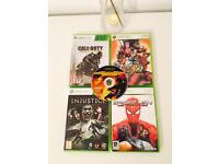 BOYS XBOX 360 GAMES BUNDLE