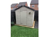 """Garden shed for sale 6ft 8"""" square"""