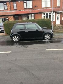 2004 Mini One 1.6, Black, Petrol, Manual