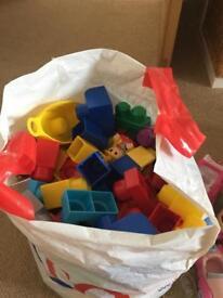Mega Blocks & plastic toys/figures