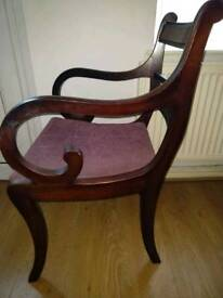 Pair of beautiful carver chairs