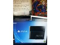 Playstation 4 500gb boxed console