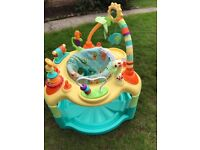 Baby Activity Centre - swivel seat, 3 adjustable heights