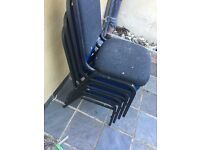 Four chairs in very good condition for 5 pounds