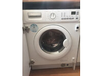 Integrated washing machine electrolux ewx14450w