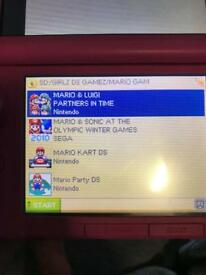 Ds game card with 100s of games
