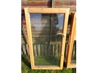 Wooden window for sale
