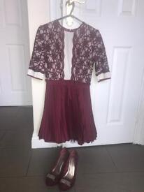 Beautiful Dress and Matching Shoes