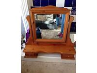 Mirror for dressing table