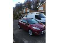 2009 ford fiesta 1.6 titanium diesel 90 long mot history £20 road tax top spec reduced to clear