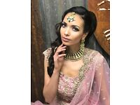 Professional hair and make up artist trained by lubnarafiq.