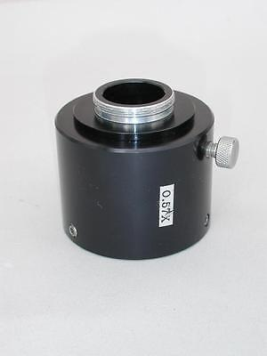 C-mount 0.57x Camera Adapter For Olympus Inverted Microscope