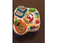 Activity table v tech good working order lots of fun suitable for boy or girl